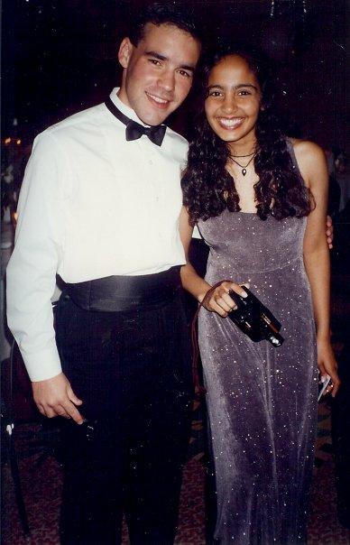 Kelvis and Meera Prom