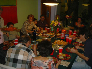 Thanksgiving Dinner 2004