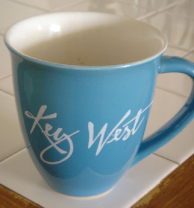 Key West Coffee Cup