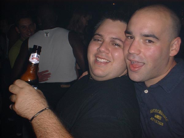 Luis and I in our college days.