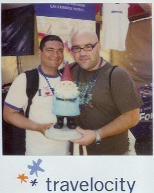 Kelvis & Rafael w/ Traveling Gnome