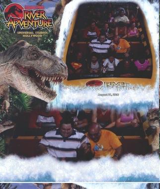 Jurassic River Ride